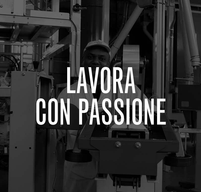 LAVORA CON PASSIONE