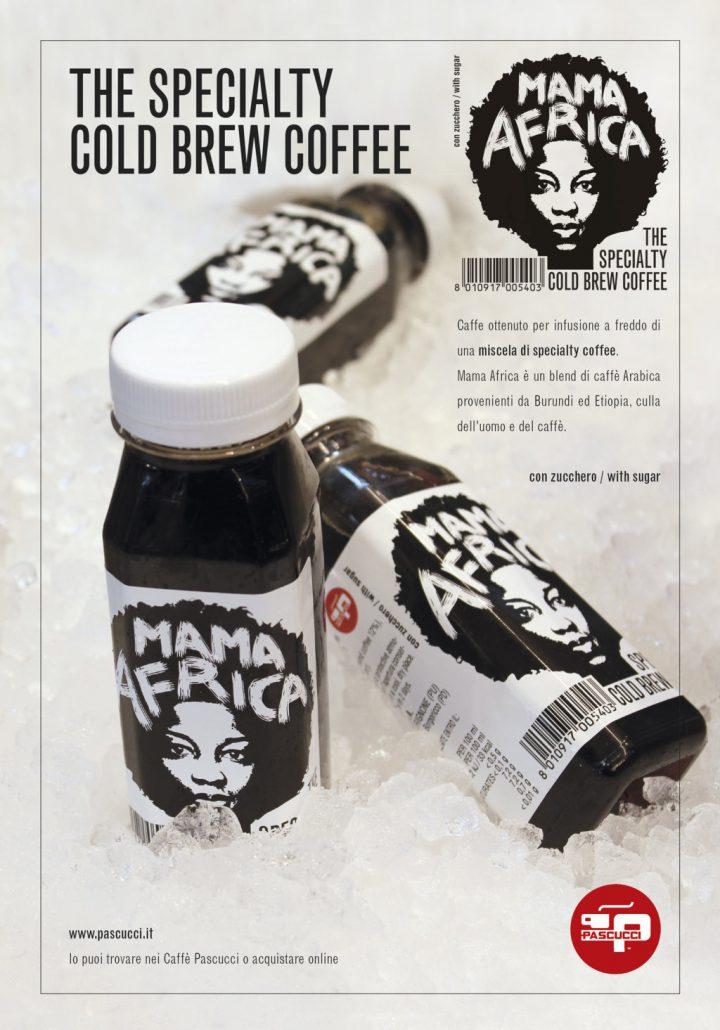 Caffè Pascucci Cold Brew Mama Africa