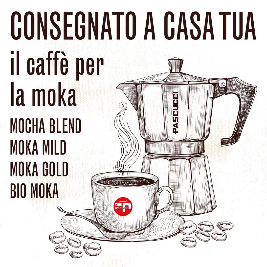 Caffè Pascucci consegnato a casa tua