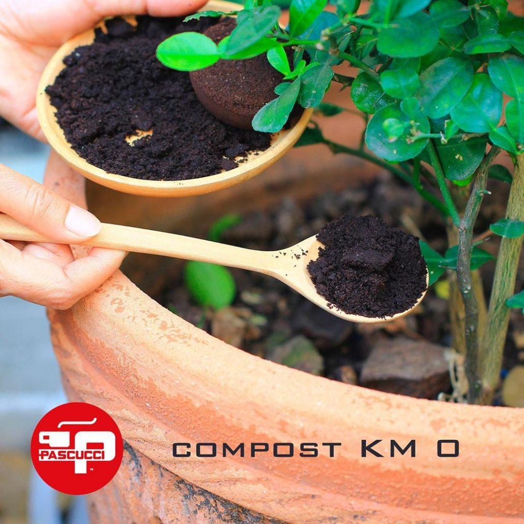 Caffè Pascucci compost km 0